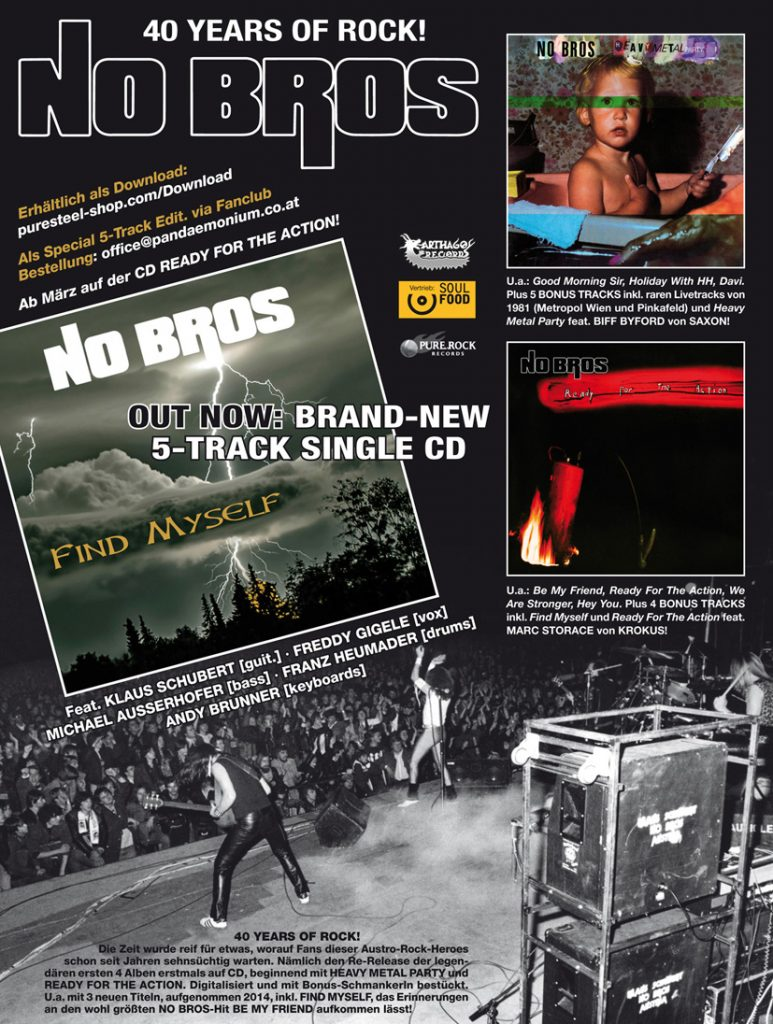 NoBros Flyer 40 Years Find myself_2015